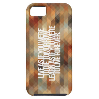 Inspirational and motivational quote iPhone 5/5S case