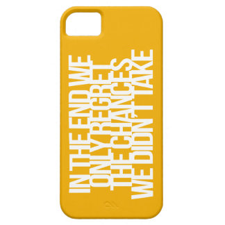 Inspirational and motivational quote iPhone 5 cases