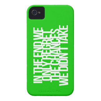 Inspirational and motivational quote iPhone 4 covers