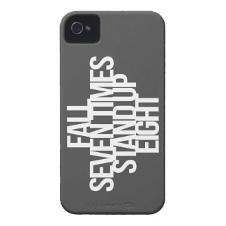 Inspirational and motivational quote iPhone 4 case