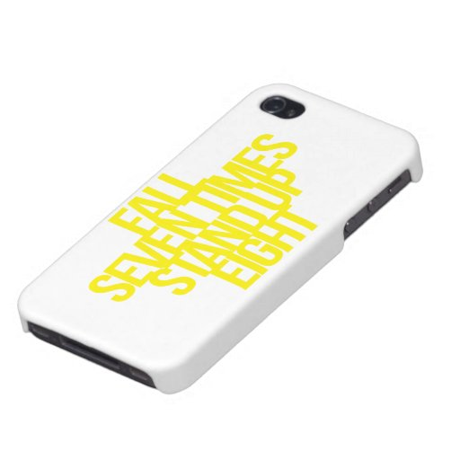 Inspirational and motivational quote covers for iPhone 4