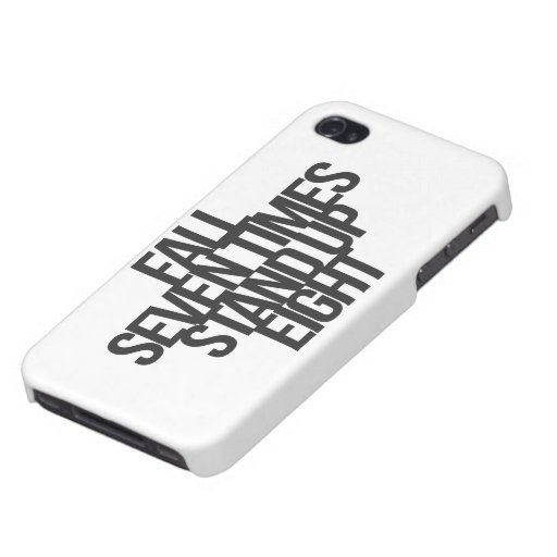 Inspirational and motivational quote cases for iPhone 4