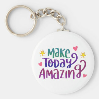 Inspirational and Motivational Quote Keychain