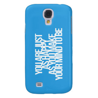 Inspirational and motivational quotes samsung galaxy s4 case