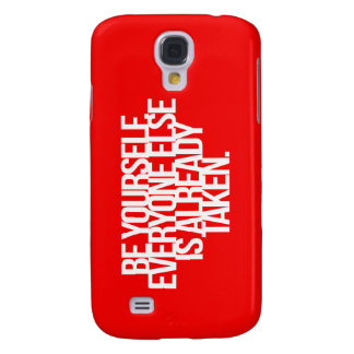 Inspirational and motivational quotes galaxy s4 cases