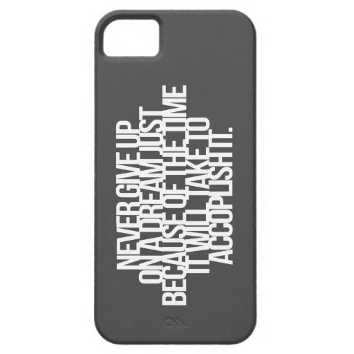 Inspirational and motivational quotes iPhone 5/5S case