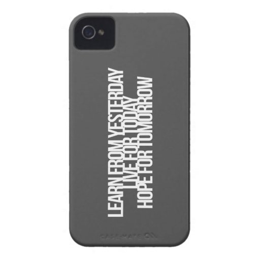 Inspirational and motivational quotes Case-Mate iPhone 4 cases
