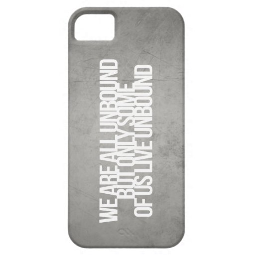 Inspirational and motivational quotes iPhone 5 cover