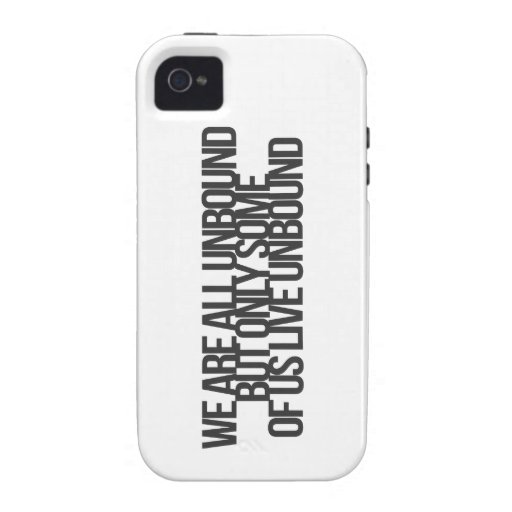 Inspirational and motivational quotes case for the iPhone 4