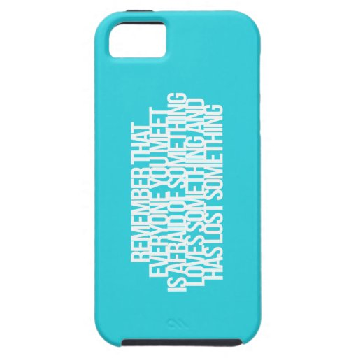 Inspirational and motivational quotes iPhone 5 case