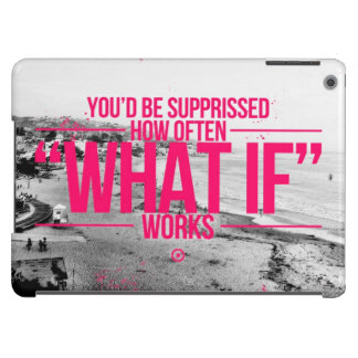 Inspirational and motivational quotes iPad air cases