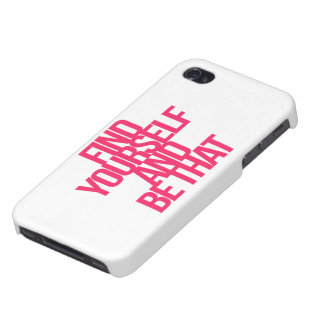Inspirational and motivational quotes iPhone 4/4S cover