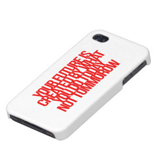 Inspirational and motivational quotes iPhone 4 case