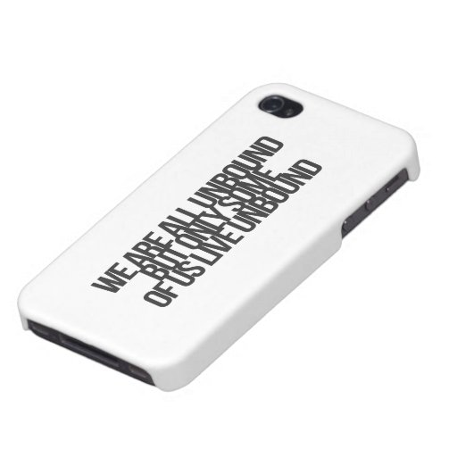 Inspirational and motivational quotes iPhone 4/4S case