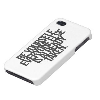Inspirational and motivational quotes covers for iPhone 4