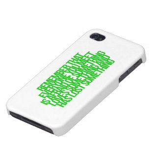 Inspirational and motivational quotes iPhone 4/4S cases