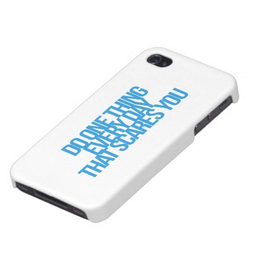 Inspirational and motivational quotes cover for iPhone 4