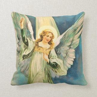 Inspirational Angel Christmas Throw Pillow