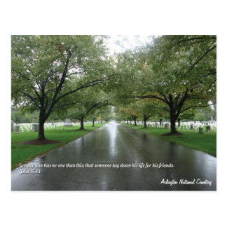Inspirational Arlington National Cemetery Postcard