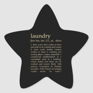 Inspirational Art - Laundry Process Sticker