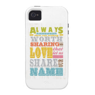 Inspirational Art - Sharing Love. iPhone 4/4S Covers