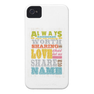 Inspirational Art - Sharing Love. iPhone 4 Case-Mate Case