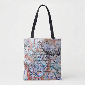 Inspirational bag