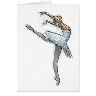 Inspirational Ballet Dancer Card