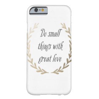 Inspirational Barely There iPhone 6 Case