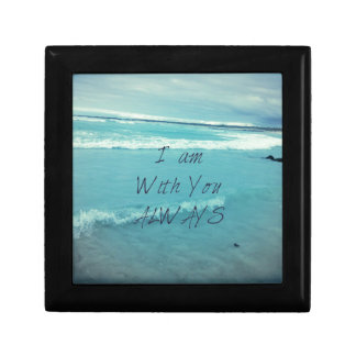Inspirational Bible Verse ocean - I am With You Gift Box