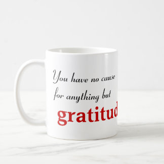 Inspirational Buddha Quote Classic White Coffee Mug