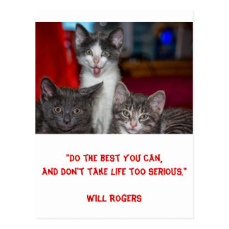 Inspirational card 'Doing your best' 1 - Postcard