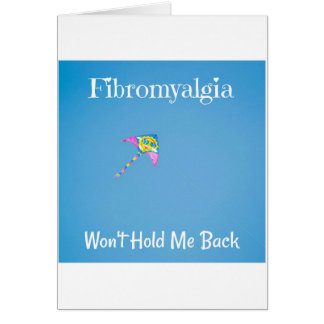 Inspirational Card for Fibromyalgia