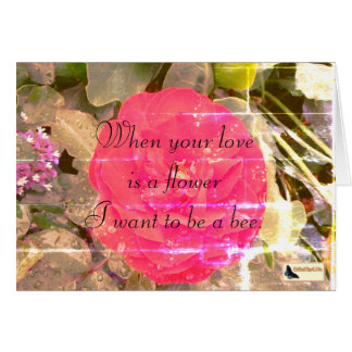 Inspirational Card - Love