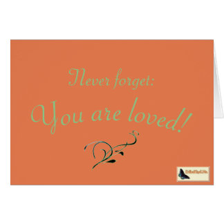 Inspirational Card - Love