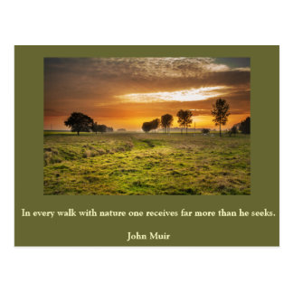 Inspirational card Nature 1