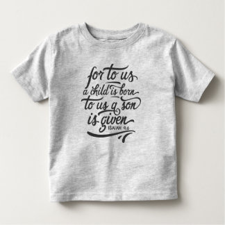 Inspirational Christmas Bible Verse | Shirt