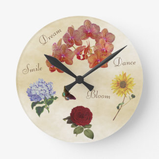 Inspirational Clock - Rise Up