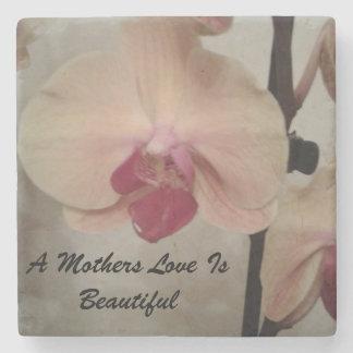 Inspirational coaster .perfect gift for mum . stone beverage coaster