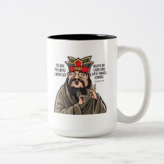 Inspirational Confucius Quote mug