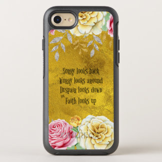 Inspirational Faith Looks Up Quote OtterBox Symmetry iPhone 7 Case