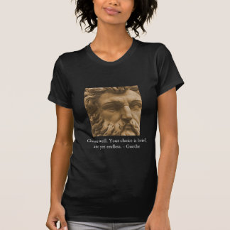 Inspirational Goethe Quote T-Shirt