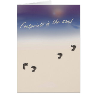 Inspirational greeting card