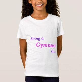 inspirational gymnastic tee