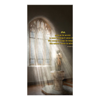 Inspirational - Heavenly Father - Senrenity Prayer Photo Card
