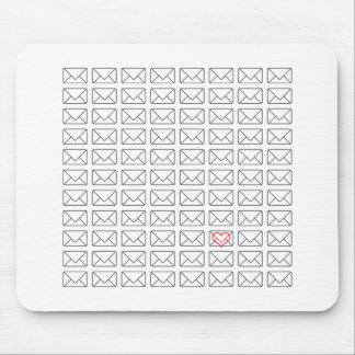 Inspirational I Love you note Mouse Pad