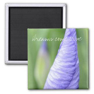 Inspirational Iris Magnet