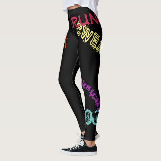 Inspirational Leggins Encouragement Work Out Pants