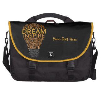 Inspirational Light Bulb custom laptop bag