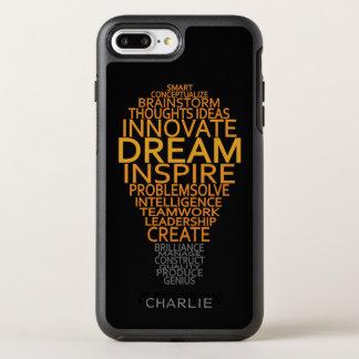 Inspirational Light Bulb custom name phone cases